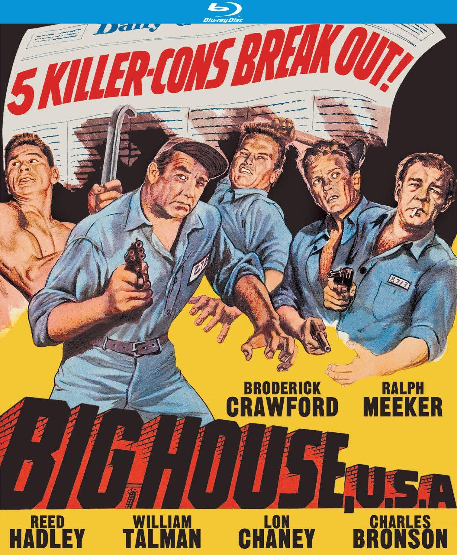 Blu-ray : Big House, U.S.A. (Remastered, Digitally Mastered in HD)