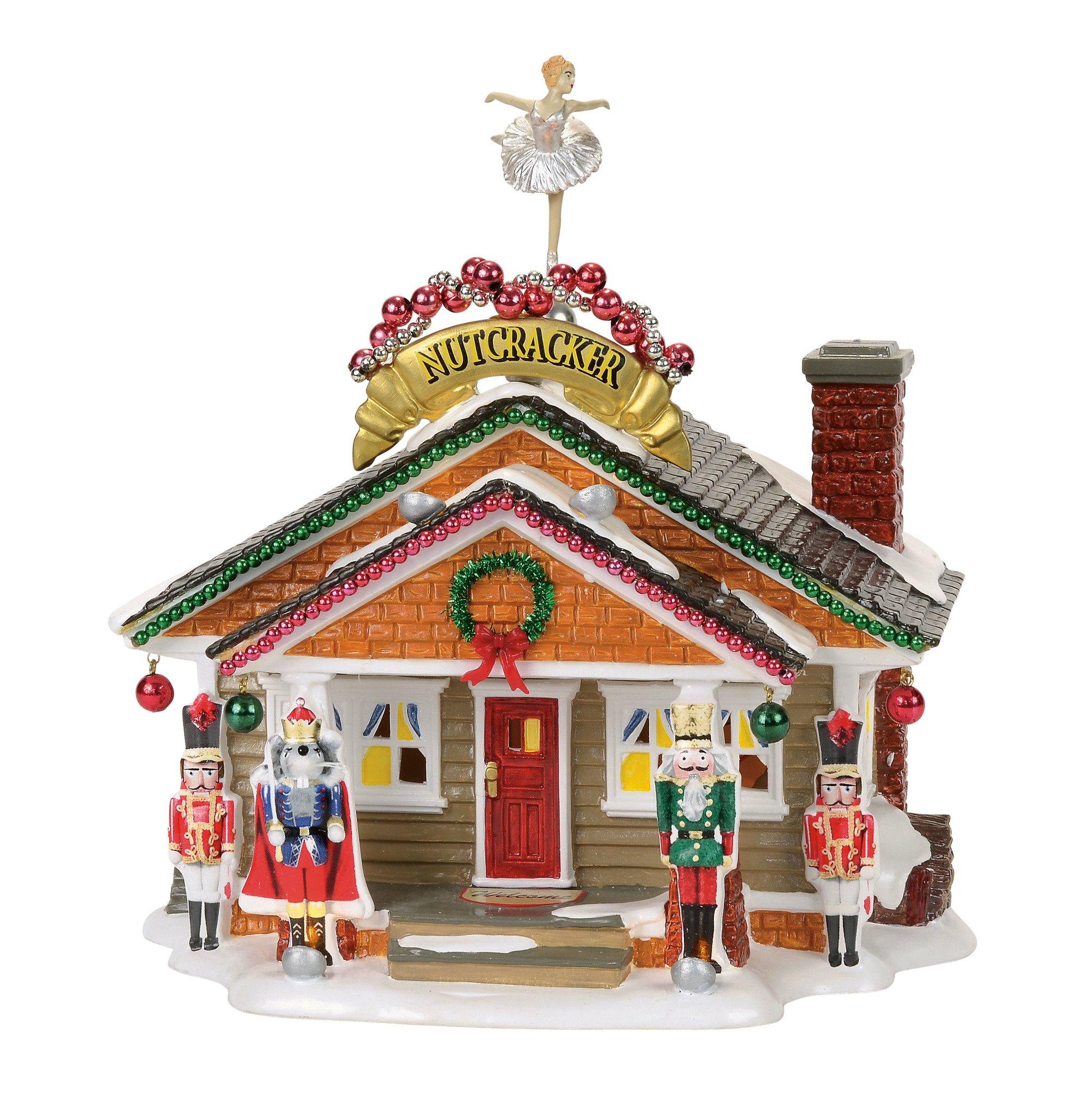 Department 56 Snow Village the Nutcracker House Lit Building, Multicolor