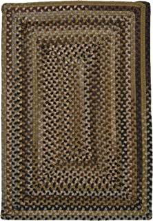 product image for Ridgevale Braided Rug, 2 by 4-Feet, Grecian Green