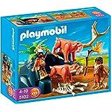 playmobil 5100 grotte pr historique avec mammouth jeux et jouets. Black Bedroom Furniture Sets. Home Design Ideas