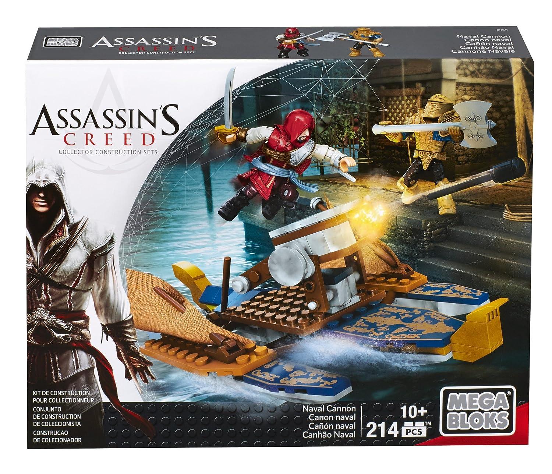 Assassins Creed - Mega Bloks artillería Naval, Juego de construcción (Mattel CNG11): Amazon.es: Juguetes y juegos
