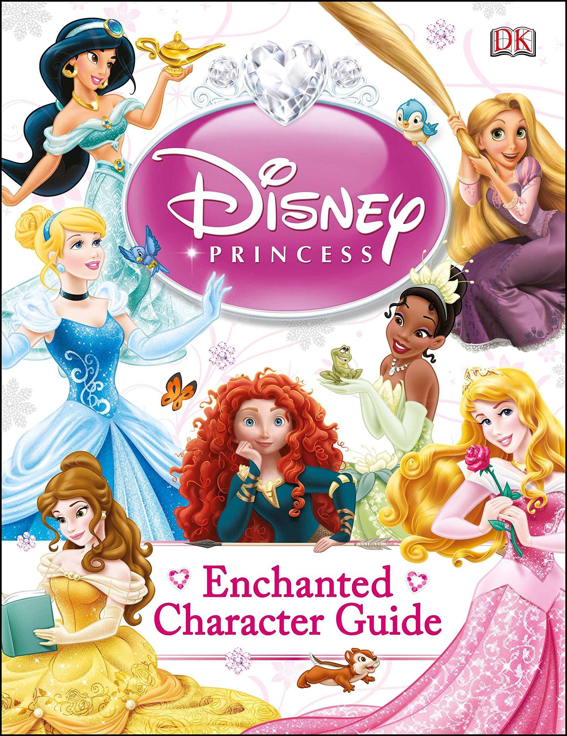 Disney Princess Enchanted Character Guide Saunders Catherine