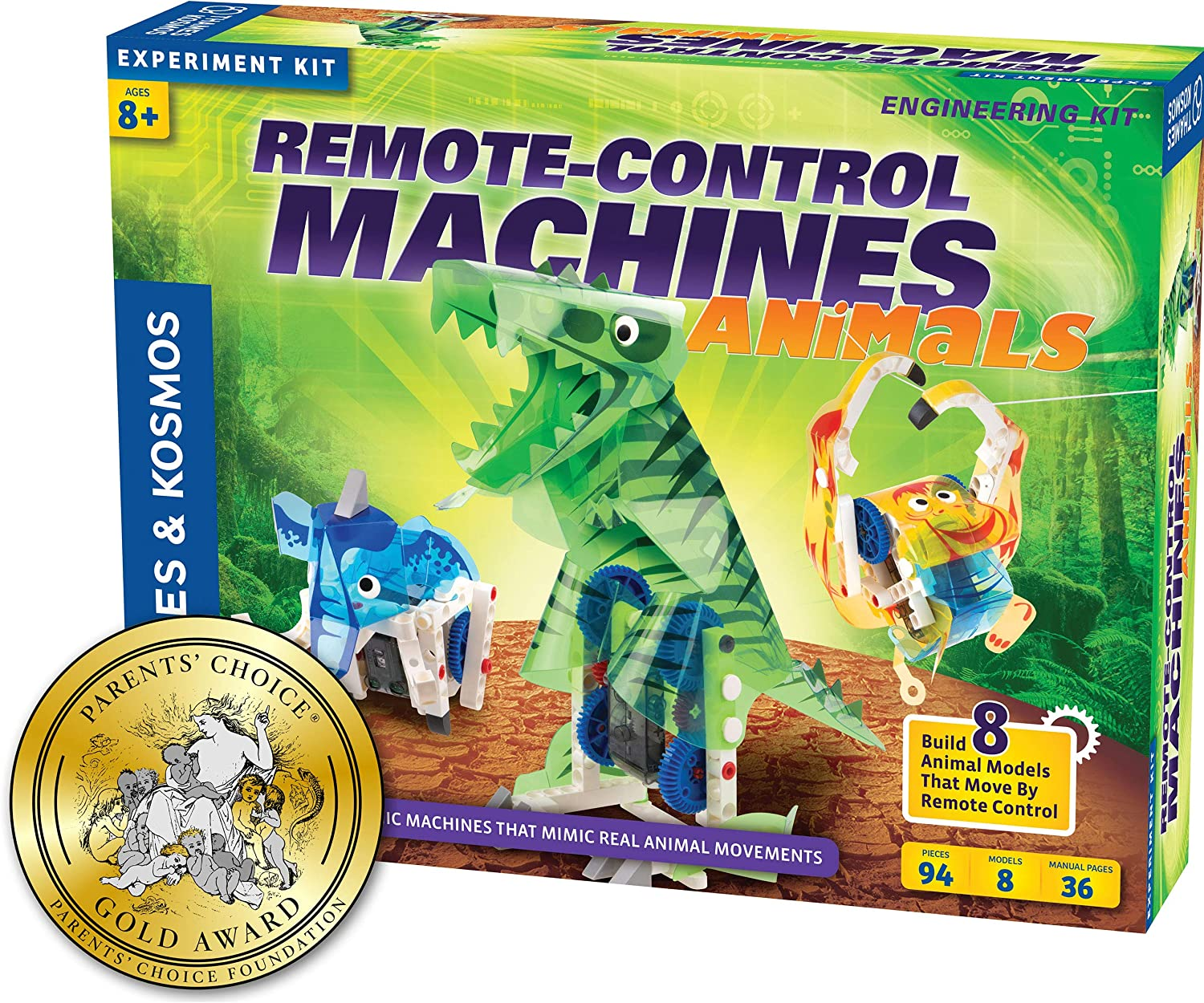 Thames & Kosmos Remote-Control Machines: Animals Science Kit