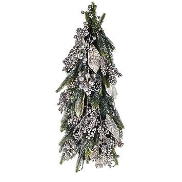 Decorazioni Natalizie Con Foglie Di Magnolia.Bianchi Dino Xu084 01 Abete Con Foglia Magnolia Naturale