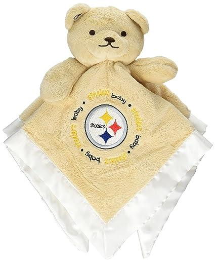 66500c83e27 Amazon.com  NFL Pittsburgh Steelers Baby Fanatic Snuggle Bear  Baby