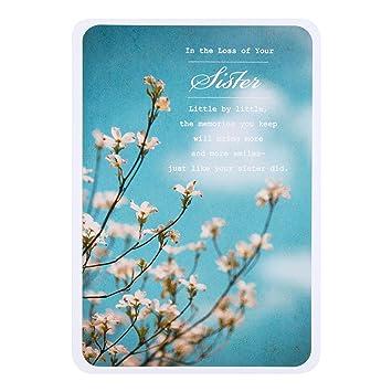 Hallmark sympathy card loss of your sister medium amazon hallmark sympathy card loss of your sister medium altavistaventures Images