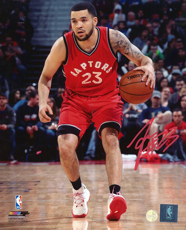 Frameworth Fred Van Vleet Toronto Raptors Signed Unframed Photo, 8x10, Multi 65-794