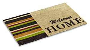 Kempf Welcome Home Coco Mat with Rubber Backing 18 by 30