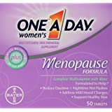 One-A-Day Women's Menopause Formula Multivitamin, 50-tablet Bottle