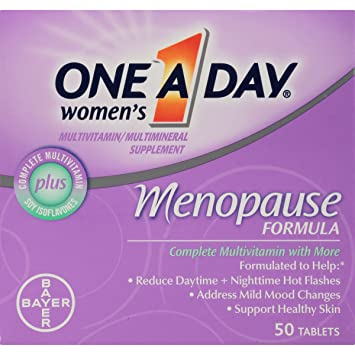One-A-Day Womens Menopause Formula Multivitamin, 50-tablet Bottle