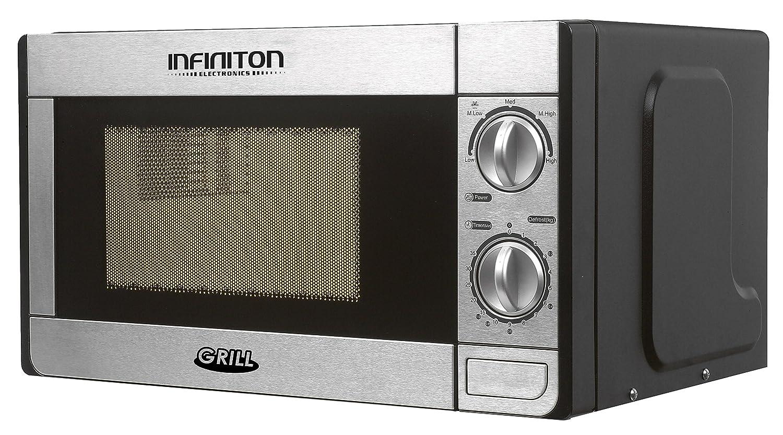 MICROONDAS INFINITON MW-1115 700W con Grill INOX.: Amazon.es ...