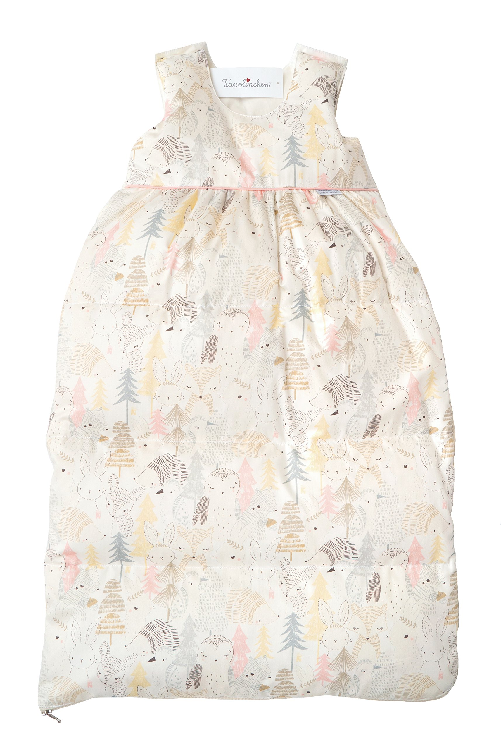 Tavolinchen Baby Sleeping bag''Animals from'' down sleeping bag childrensleeping bag (90cm (9-18m.), rose)