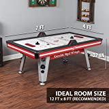 NHL Air Powered Hockey Table - Detroit Red Wings