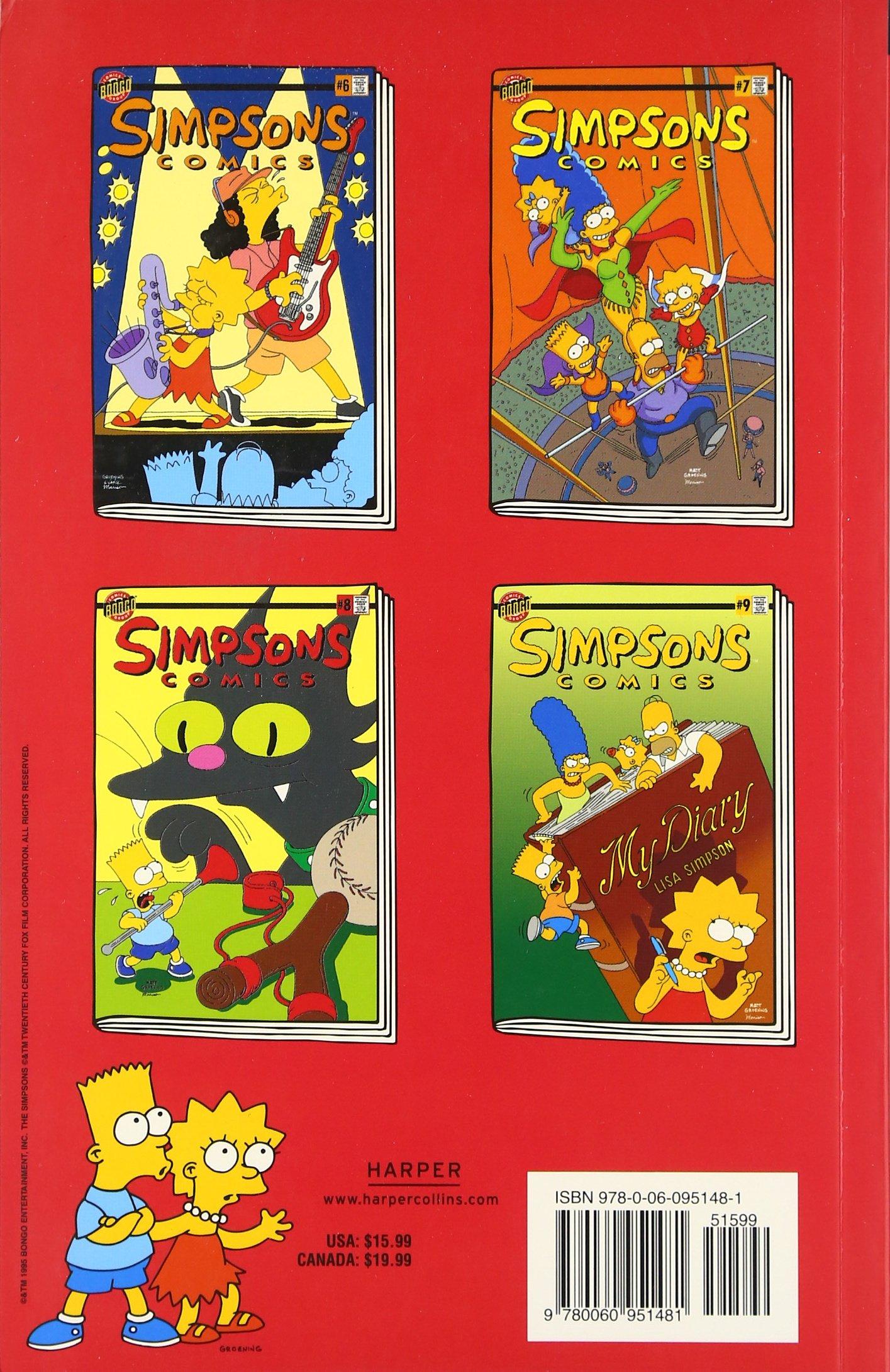 Simpsons ics Spectacular Simpsons ics pilations Matt