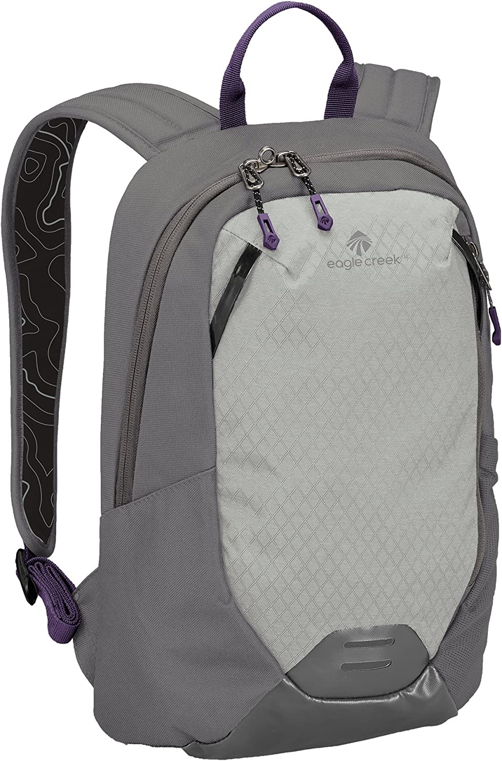 Eagle Creek Unisex Travel Laptop Backpack-multiuse-Hidden Tech Pocket, Graphite/Amethyst, One Size