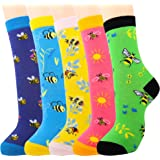 Jeasona Women's Fun Socks Cute Animals Funny Funky Novelty Cotton Gifts