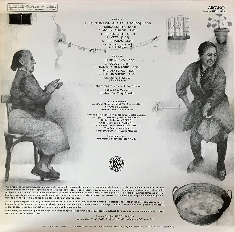 Los Amaya, Unknown - Los Amaya Nosotros Los Gitanos Vinyl LP Spain - Amazon.com Music