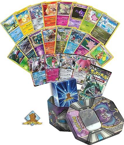 Binder Tin Booster Collection Variety Bundle Lot w Rares Pokemon Cards Holos