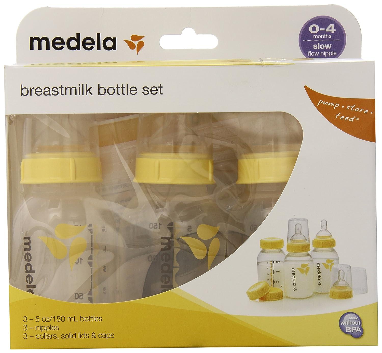 直送商品 Medela Breastmilk Bottle Set Set Medela - 5 by oz - 3 ct by Medela B007K96PZS, クッチャンチョウ:e9a1fc6a --- a0267596.xsph.ru