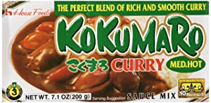 House Foods Kokumaro Curry, Medium Hot, 4.93-Ounce Boxes (Pack of 10)
