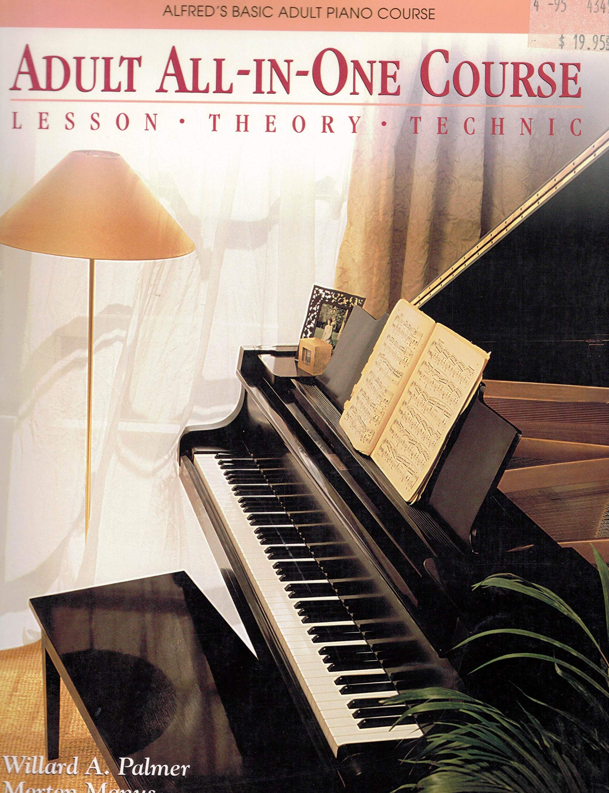 Top 10 Best alfred all in one adult piano course level 1 Reviews