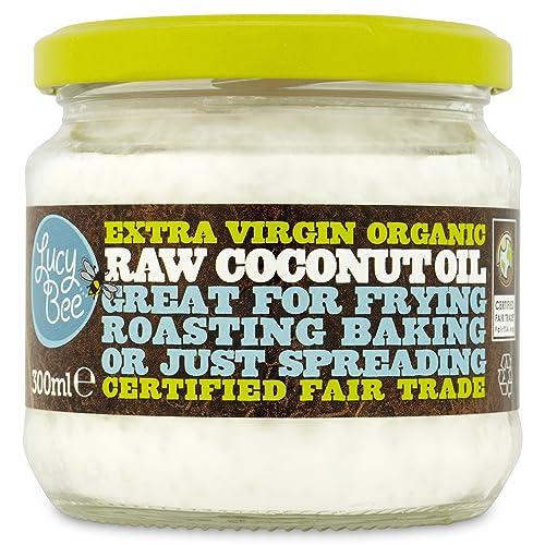 Lucy Bee Extra Virgin Fair Trade Organic Raw Coconut Oil 300ml