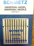 Sewing Machine Needle Schmetz Assorted 70-90 from Germany x10 needle packet