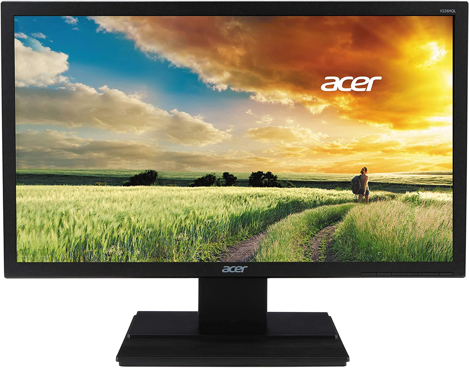 "Acer V6 21.5"" LED Widescreen LCD Monitor Full HD 1920x1080 5 ms 200 Nit TN (Renewed)"