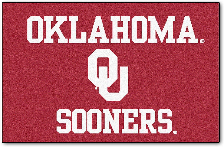 FANMATS Oklahoma Sooners Starter Rug