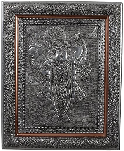 Set @ 2 Vintage Copper Relief Embossed African Man Woman Picture Framed Antiques Other Antique Decorative Arts