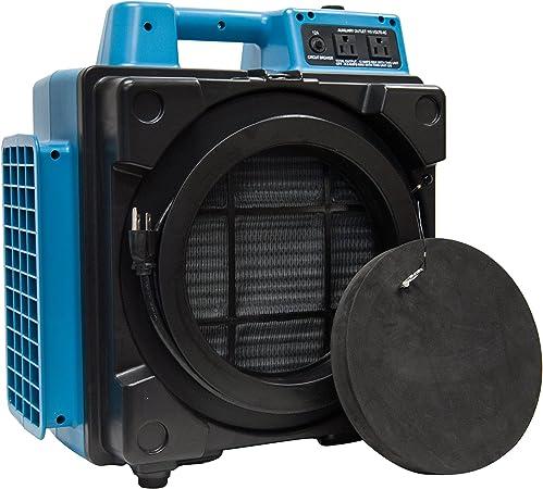 XPOWER X-2480A sistema de purificador HEPA de filtración profesional de 3 etapas, máquina de aire