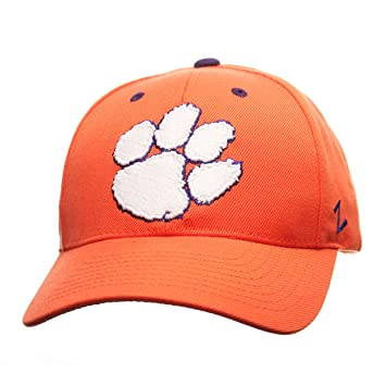 quality design ad761 6b175 ... store zephyr ncaa clemson tigers mens competitor hat adjustable orange  a26c1 0638a