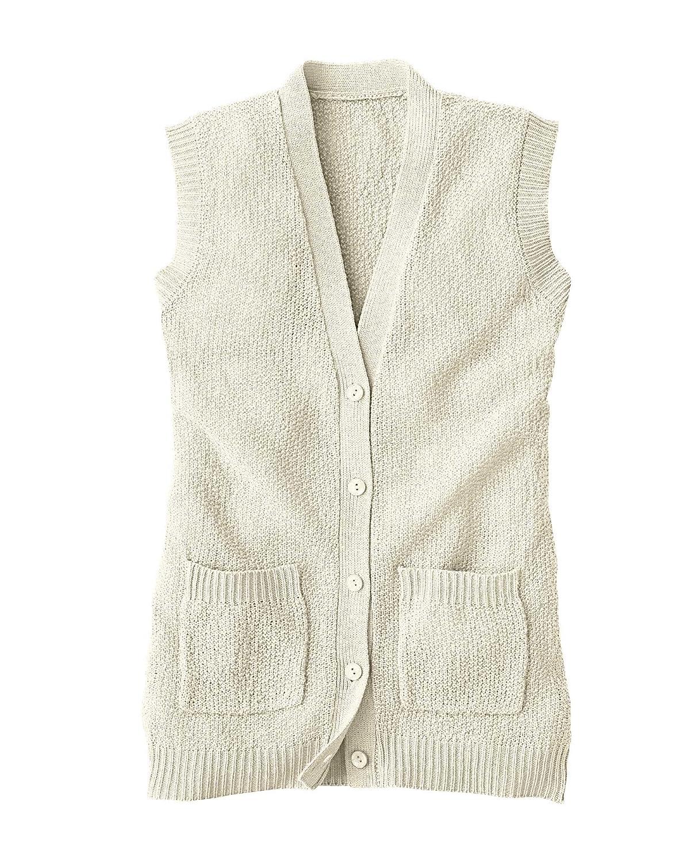 National Scramble Stitch Sweater Vest at Amazon Women's Clothing ...
