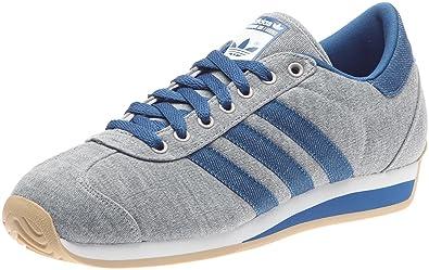 check out a5390 ecf3a adidas Originals Country II, Zapatos Lifestyle - Zapatillas Deportivas  Hombre, Gris (Gris MoyenDenimBlanc), 43 EU Amazon.es Zapatos y  complementos