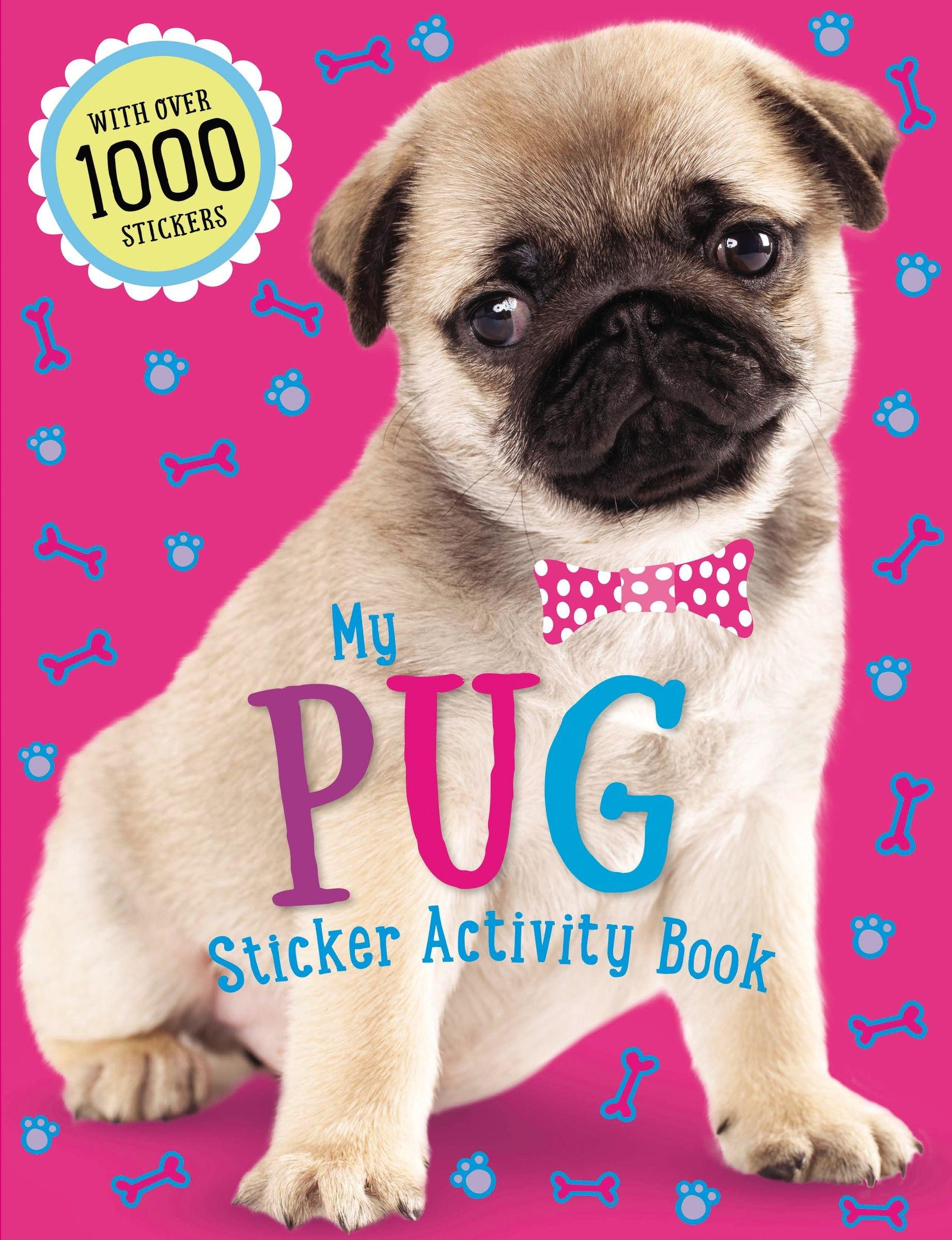 Download Pug Sticker Activity Book pdf epub