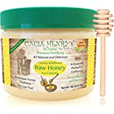 "Raw Honey from Canada, #1 Best Taste Creamy Premium Fresh Farmers Market Quality. Big 1lb Double-Sealed Artisan California Product, Original Green Lid ""You'll Love it"" Henry's Guarantee"