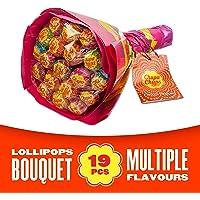 Chupa Chups Bouquet De Fleurs Composé De 19 Sucettes De 12 G
