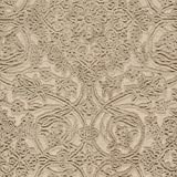 Stone & Beam Floral Wool Rug, 4' x 6', Taupe