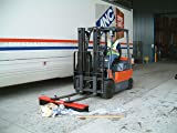 Vestil VSWP-48 Fork Truck Mounted Sweeper with