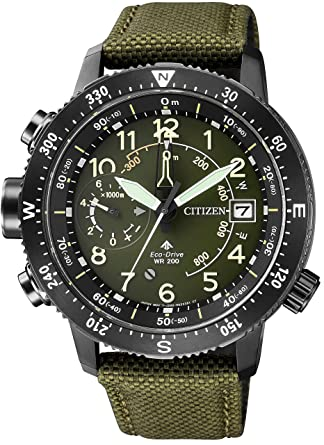 9f0589691e [シチズン]CITIZEN 腕時計 PROMASTER プロマスター エコ・ドライブ アルティクロン ランドシリーズ 高度計測