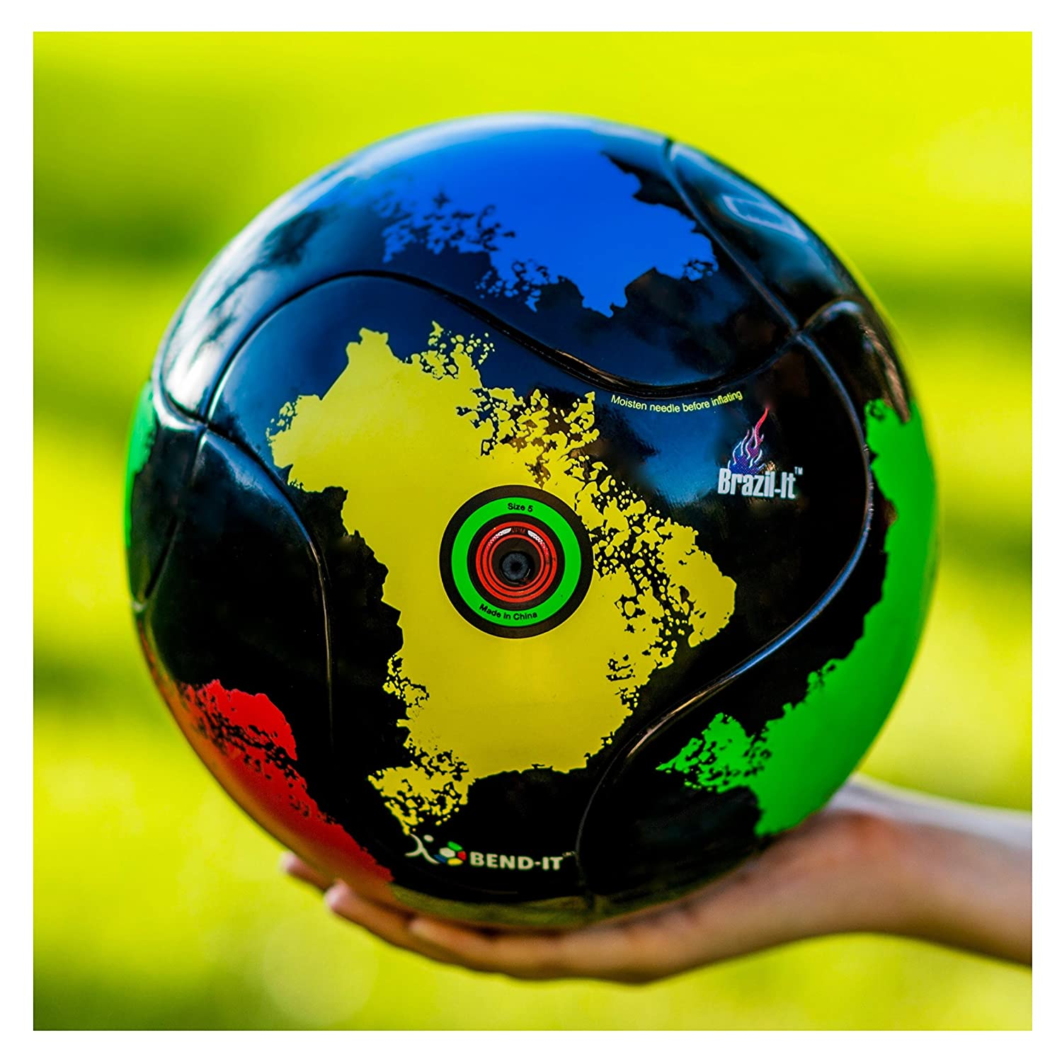 bend-itサッカー、knuckle-it Pro、サッカーボール、Official Match Ball with VPM and VRCテクノロジー B015IO797E 5|Brazil-It Youth Premier OMB Match Soccer Ball Brazil-It Youth Premier OMB Match Soccer Ball 5
