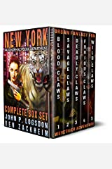 New York Paranormal Police Department Complete Box Set Kindle Edition