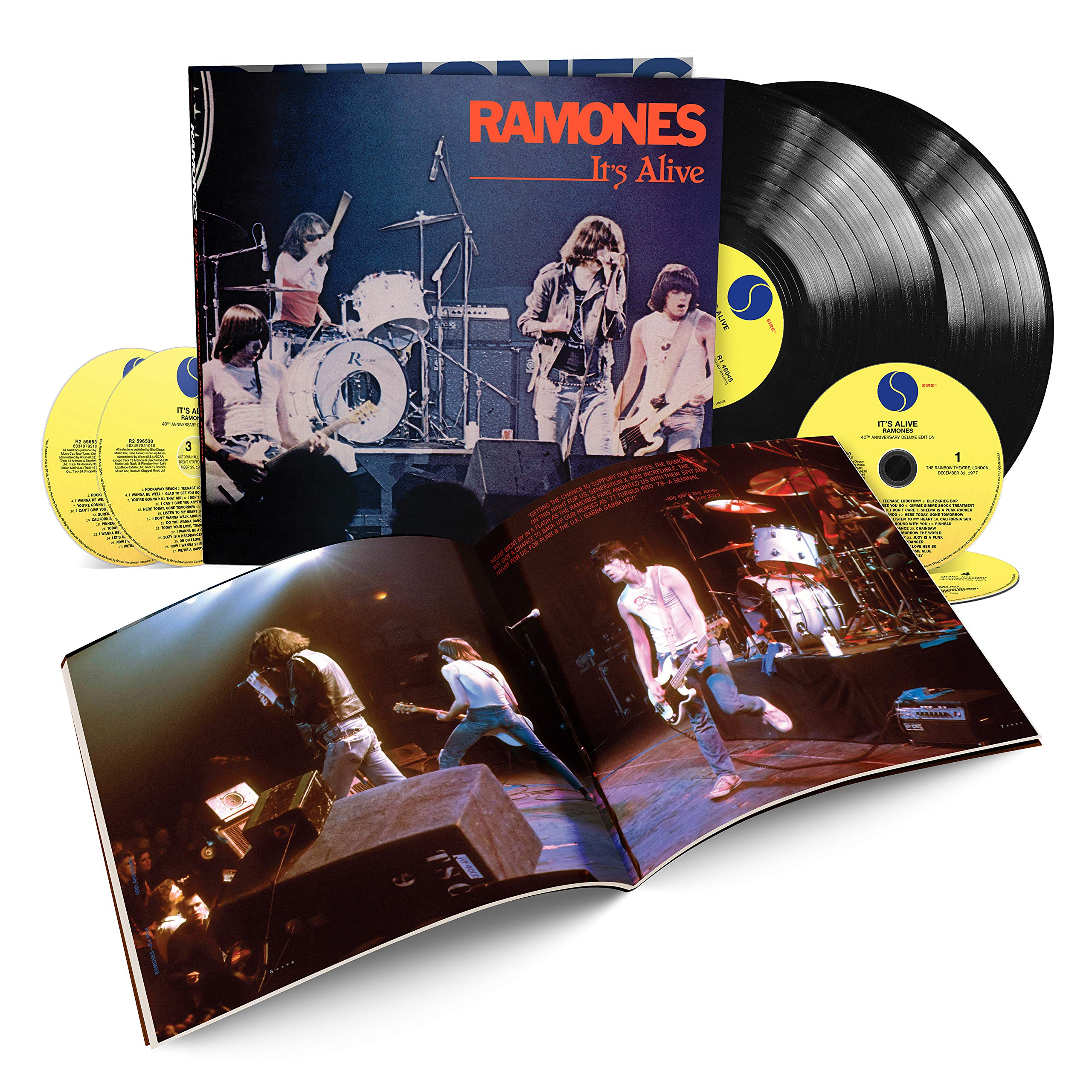 It's Alive (40th Anniversary Deluxe Edition) (4CD/2LP) by Rhino/Warner Bros.