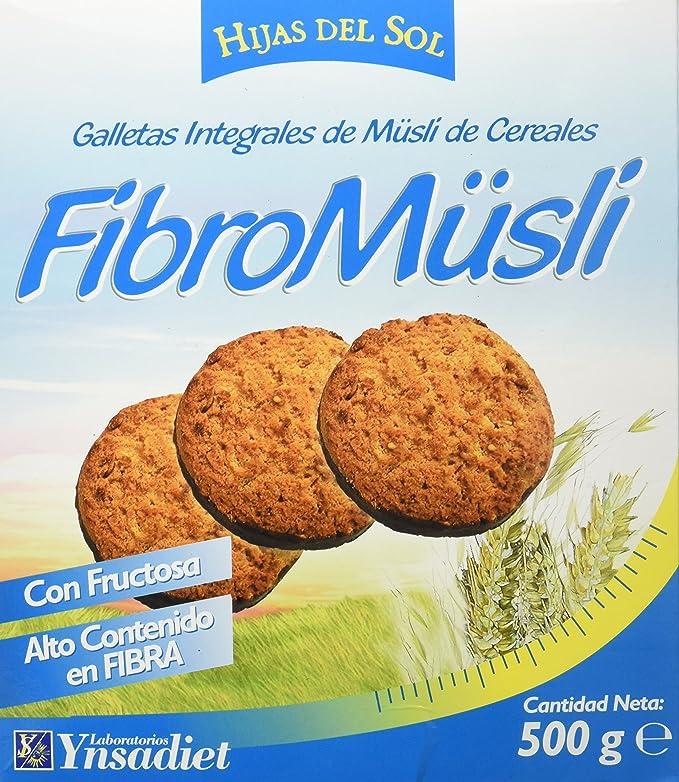 Hijas Del Sol Galletas Integrales de Muesli de Cereales, con ...