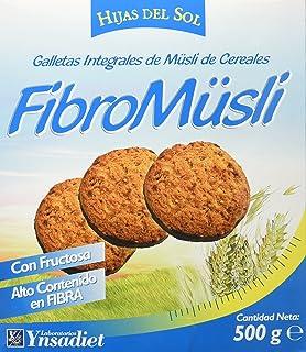 Hijas Del Sol Galletas Integrales de Muesli de Cereales, con Chocolate - 500 gr