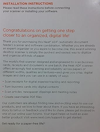 amazoncom neatdesk desktop scanner and digital filing system and software electronics