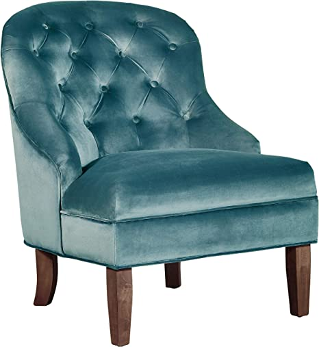 Adore Decor UPH10034A Vera Accent Chair, Teal
