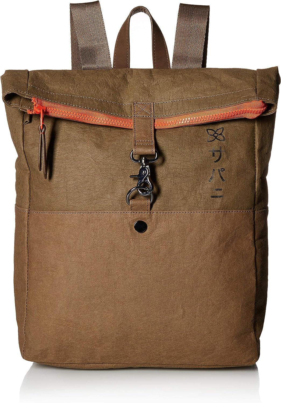 Sherpani Nau Paper Leather Foldover Backpack