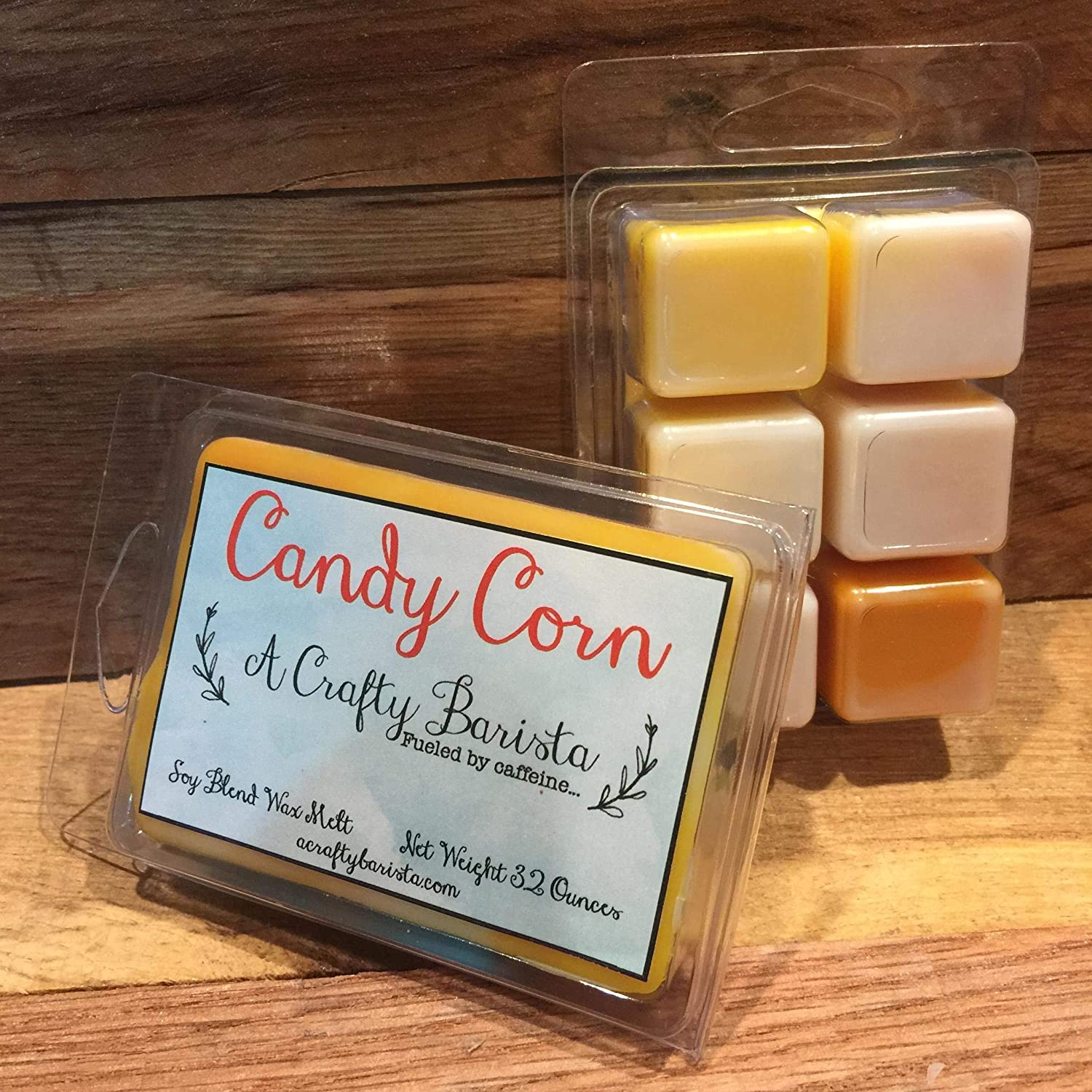 Halloween Candy Corn Scented Wax Melts, 3.2 Ounces