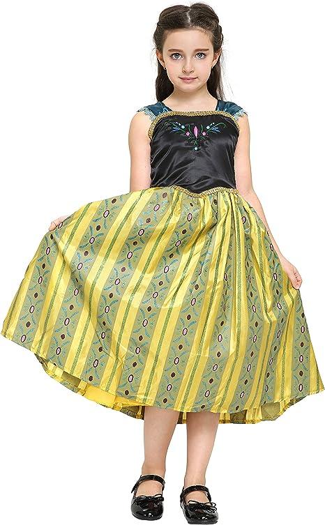 Katara - Disfraz de Anna Frozen Deluxe, vestido de coronacion de ...